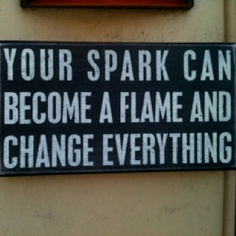 Rekindle the spark